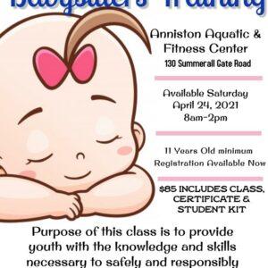 babysitting course - aquatic center