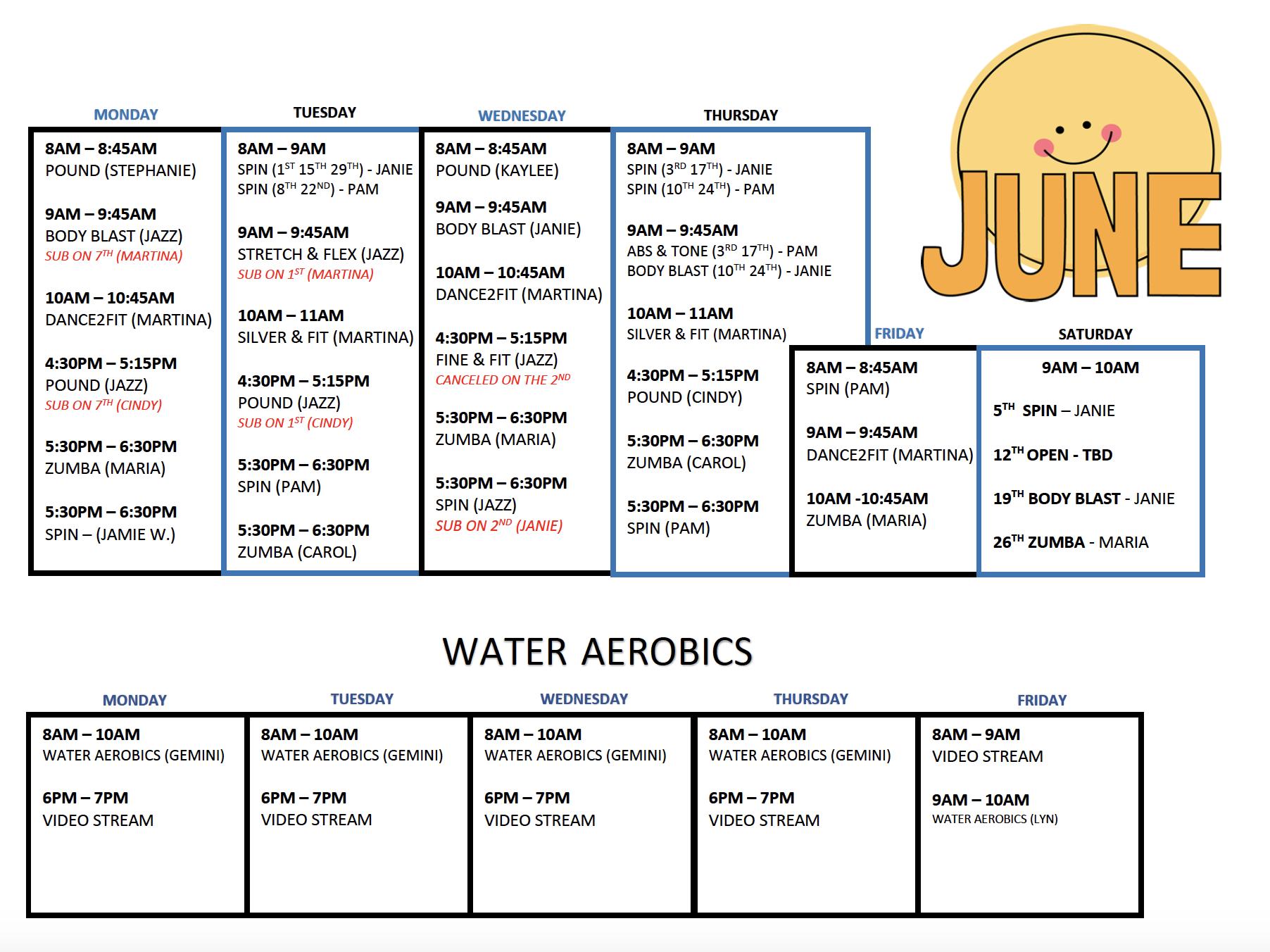 aquatic center | June 2021