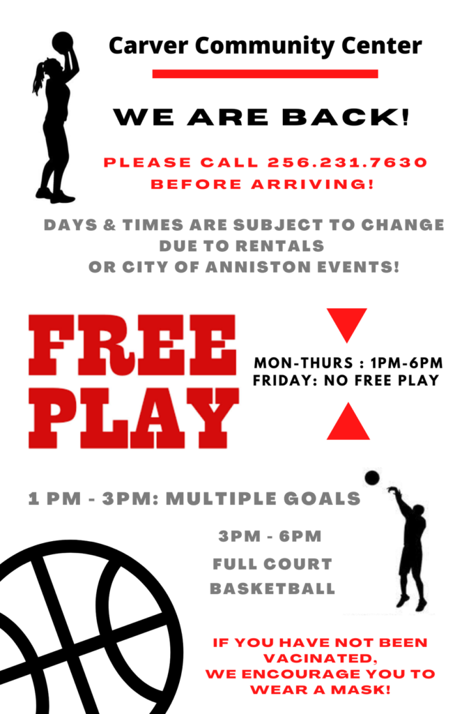 Free Play at Carver Center