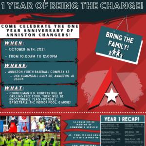 Anniston Changers_1 Year Celebration