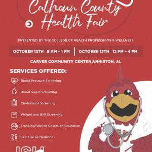 Calhoun county health fair